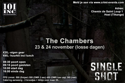 The Chambers 23-11-2019 SINGLE SHOT EVENT!!!!