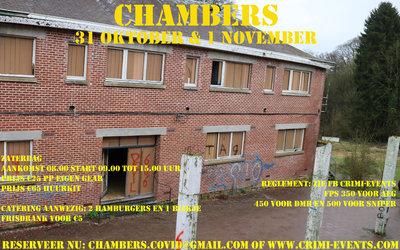 The Chambers 01-11-2020 Groep B GECANCELD!!!!
