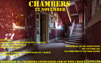 The Chambers 22-11-2020 Groep B VOLZET!!!! SKIRM IS ONDER VOORBEHOUD!!!!