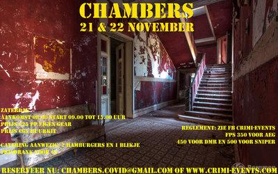 The Chambers 21-11-2020 Groep A GECANCELD!!!!