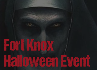 Fort Knox 30-10-2021 HALLOWEEN SKIRM VOZLET!!!!!