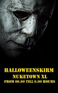 NukeTown XL 30-10-2021 HALLOWEEN NACHT SKIRM VOLZET!!!!