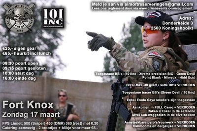 Fort Knox 17-03-2019