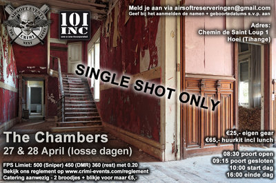 The Chambers 28-04-2019 (Single Shot Only!)