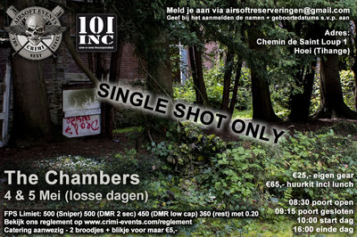 The Chambers 05-05-2019 (Single Shot Only!)