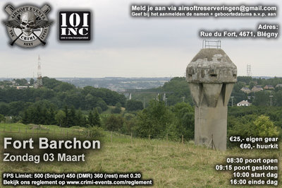 Fort Barchon 03-03-2019