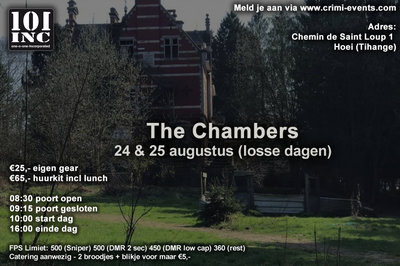 The Chambers 24-08-2019 VOLZET!!!!!