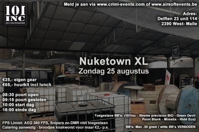 NukeTown XL 25-08-2019 VOLZET!!!!!